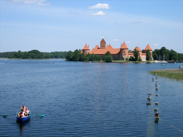 Замок Старый Тракай - столица Литвы в 12-16 веках