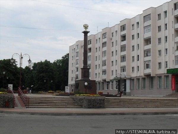 Стела Орёл - город воинской славы