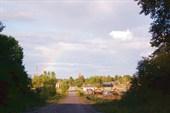 Радуга при входе в д.Севастьяново