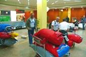 Наш багаж в а/п Дубаи