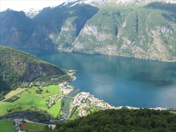 Вид на Aurlandsvagen