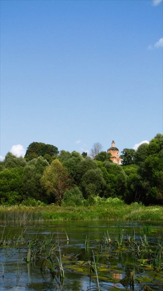 2013-08-07 Богоявленское (Ленск). Церковь Богоявления Господня.