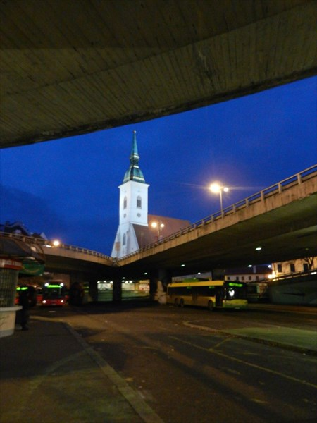 Последний взгляд на Братиславу