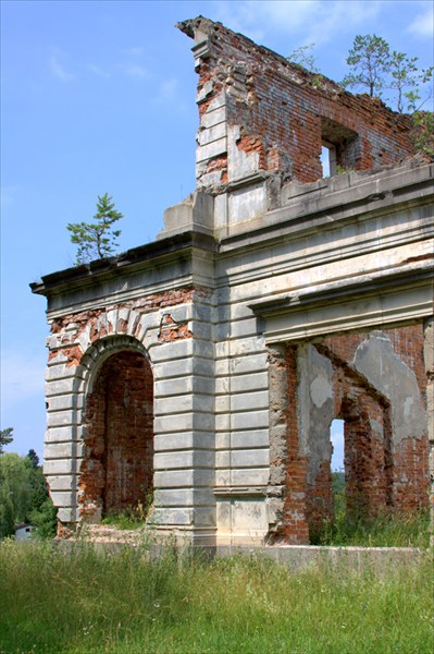 Развалины усадьбы Терещенков