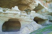 Пещеры Тепе-Кермен, северо-восточный склон
