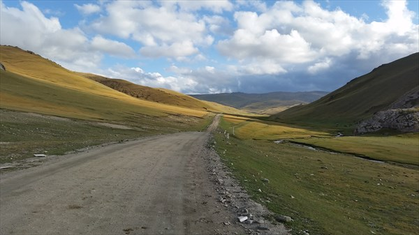 По дороге на перевал