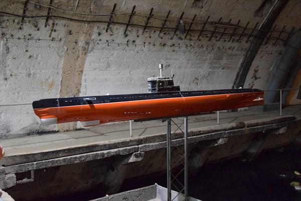 Макет подводной лодки