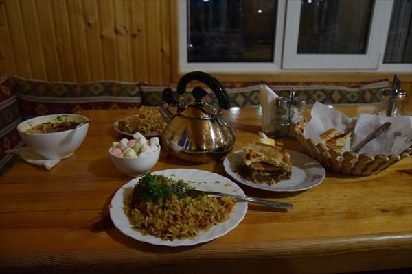Скромный ужин