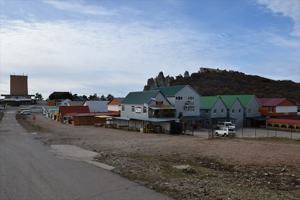 Восточный базар на Ай-Петри