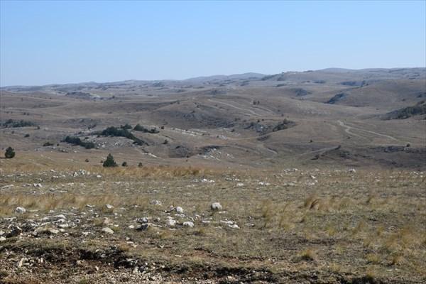 Бескрайнее горное плато