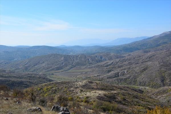 Долина реки Ускут