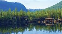 Одно из озер Олон-Нур