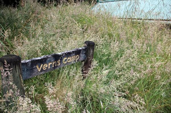 Приблиюаемся к палаточному лагерю Verns Camp