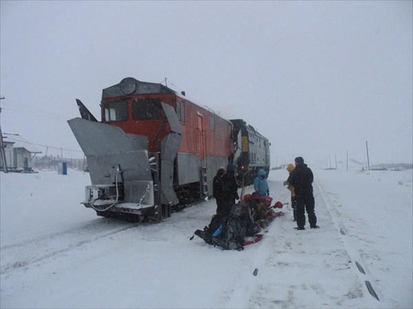 Снегоочеститель пассажирский