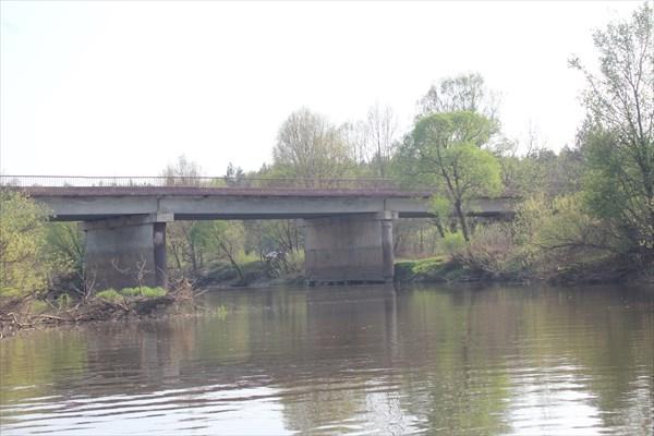 Мост в п.Думиничи