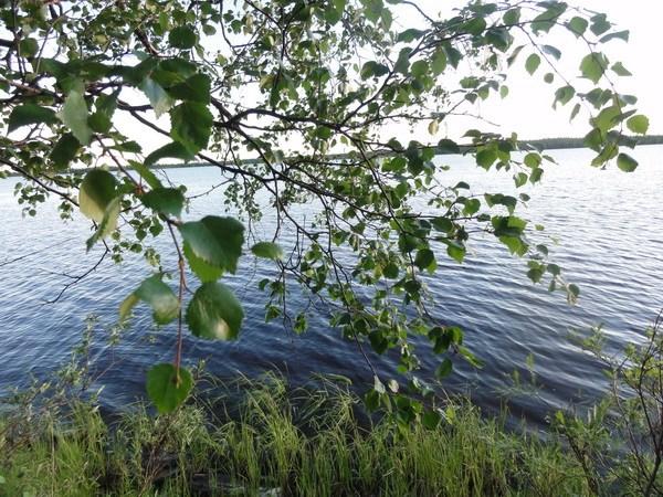 Озеро, волок на Куткатъюшлор.