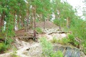 Тропа на скалу Тальков камень