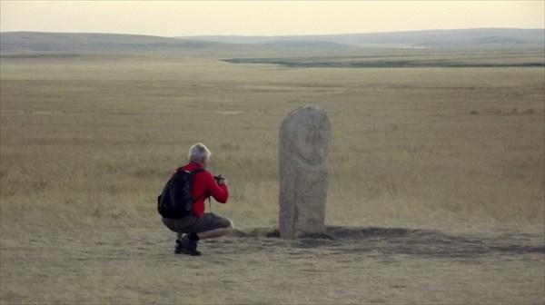 Камень-Баба. Привезена из Казахстана.