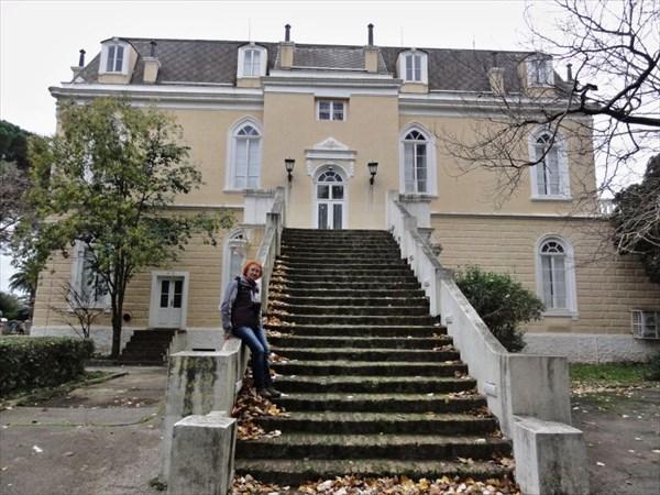 Дворец короля Николы в Тополице.