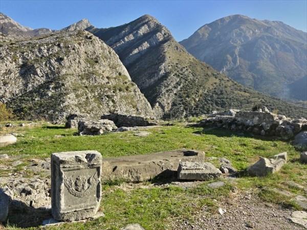 Остатки монастыря св.Георгия