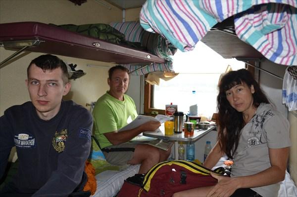 Поезд Москва - Северо-Байкальск