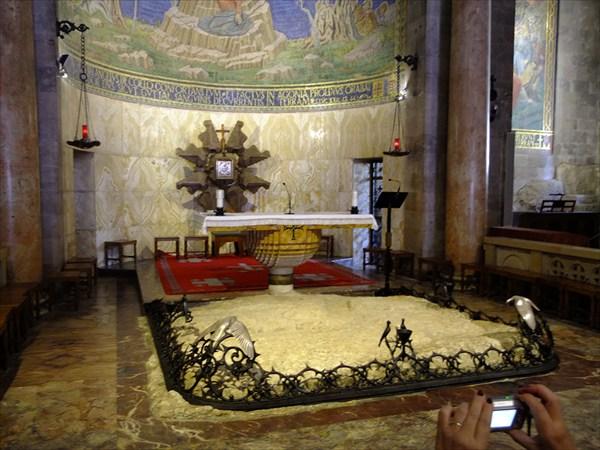 Протестанская церковь, на месте, где Иуда поцеловал Христа