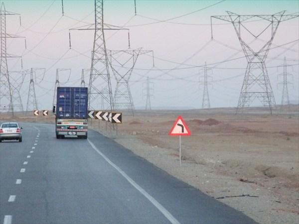 Дорога из Каира на Синай