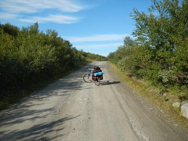Дорога по Среднему