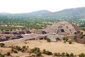 Древний город ацтеков Теотиуакан