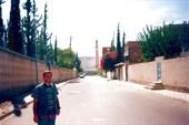 На улице Саны возле немецкого института