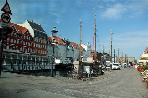Копенгаген из окна автомобиля (ищем парковку!)