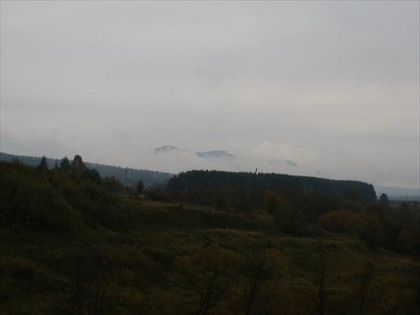Большой Таганай над облаками
