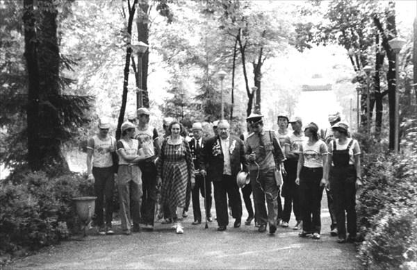 В парке Каменца-Подольского.