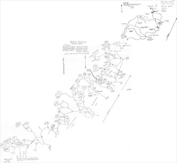 Схема каменоломни