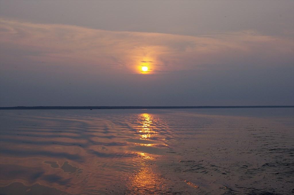 Закат в Тайпаловском заливе
