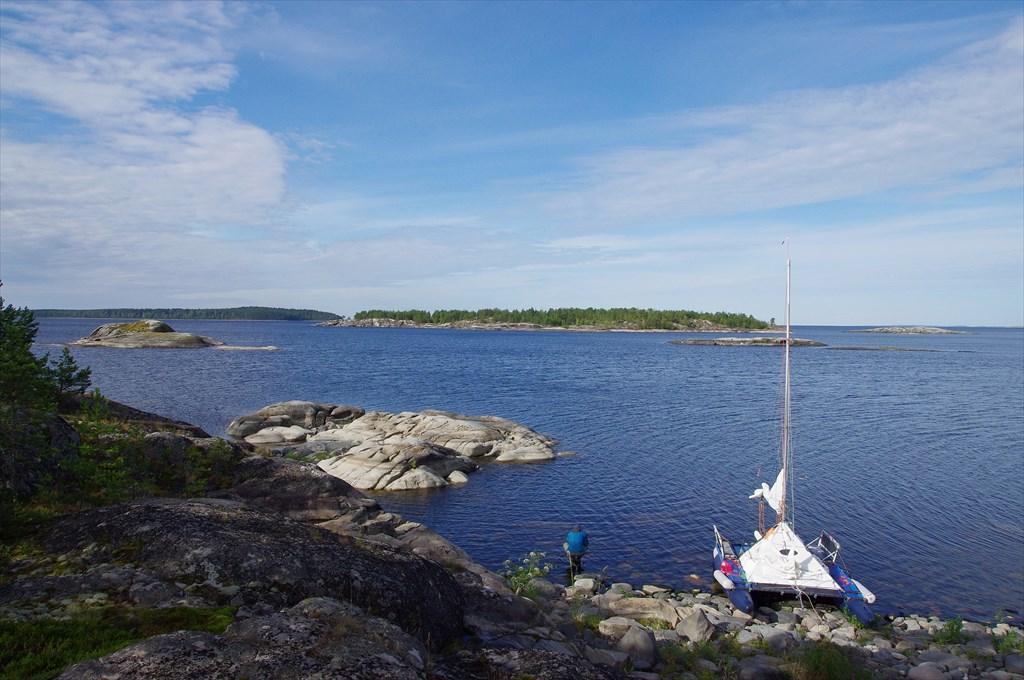 Наш кат на острове-пупыре