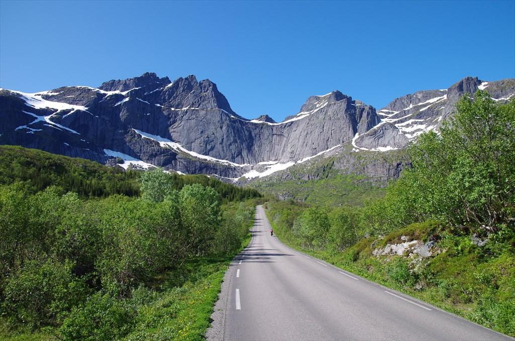 Дорога на Nusfjord