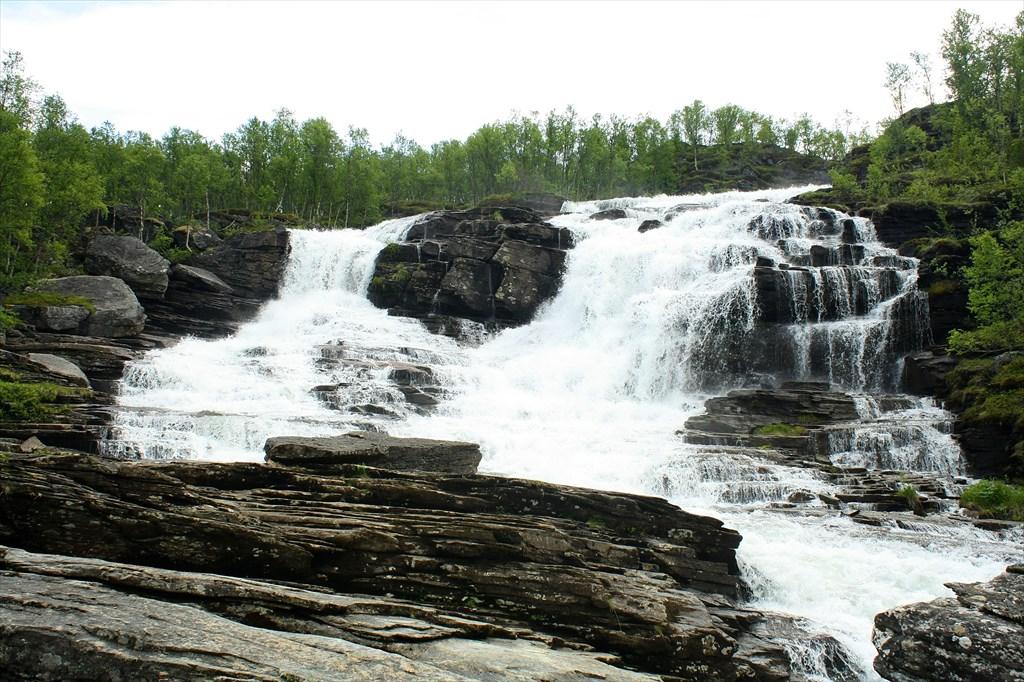Водопад Storfossen