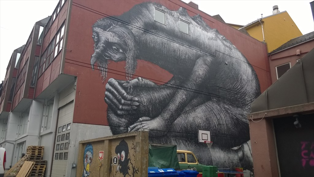 Тролль-граффити
