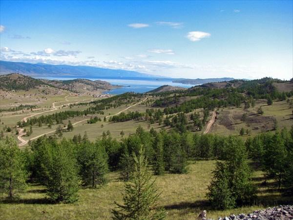 Последний взгляд на священный Байкал.
