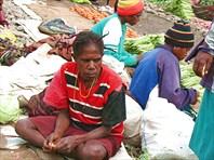 На рынке в Вамене