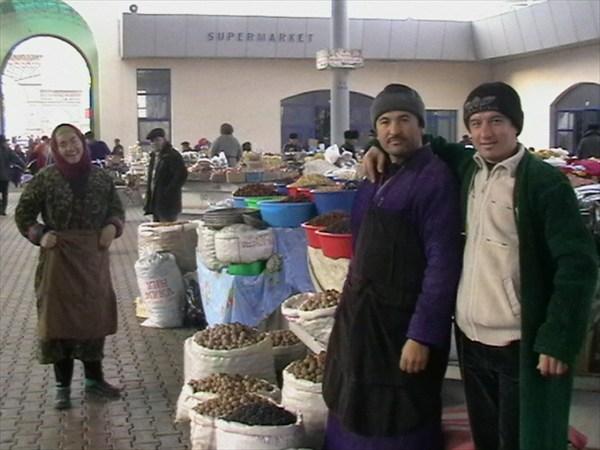 Кашкадарьинский  рынок