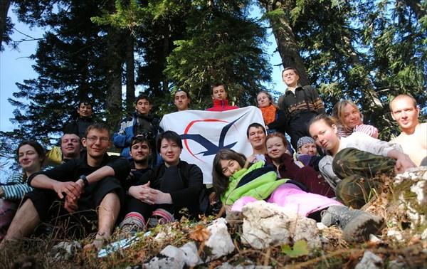 групповая фото в лагере