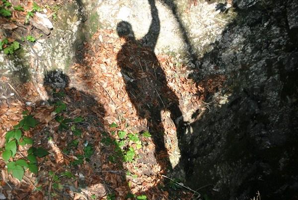 фотограф и бросальщик камня