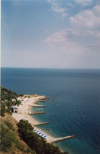 Вид на побережье, Воронцовский парк, Алупка