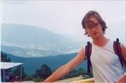 Гора Ай-Петри, вид на Ялту, 1234 метра