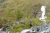 По пути к Шумаку (вид на водопад)