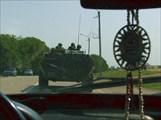 По дороге в Грозный