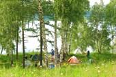 лагерь у озера Инголь