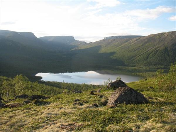 Озеро М.Вудьявр